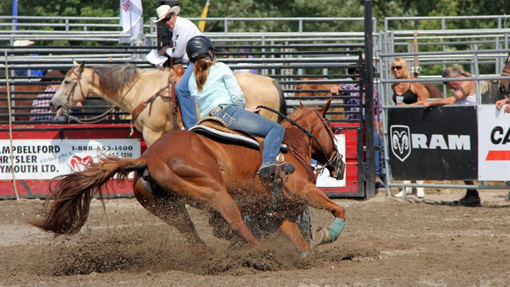 Barrel Racing - DC Photography