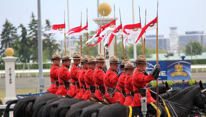Canadian RCMP During Musical Ride - DC Photography