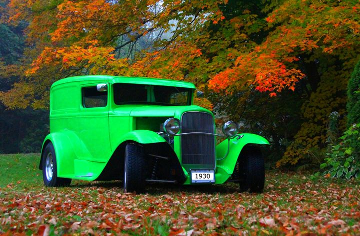 1930 Ford Sedan Delivery Truck - DC Photography