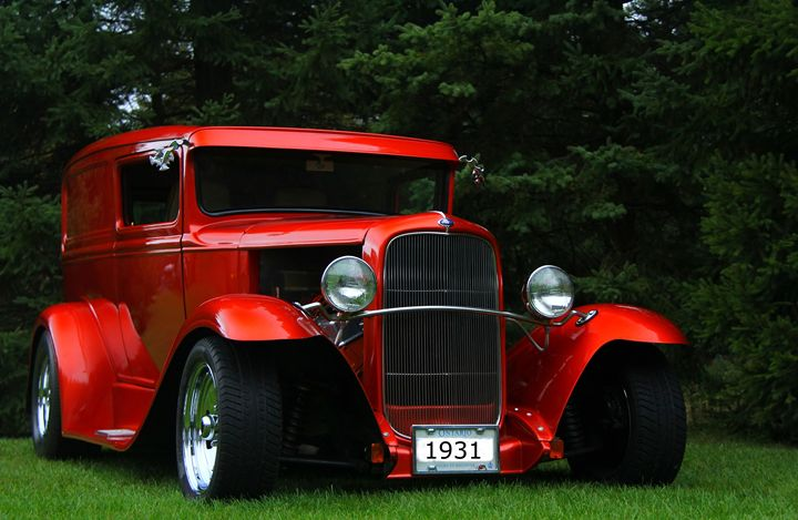 1931 Ford Panel Delivery Truck - DC Photography
