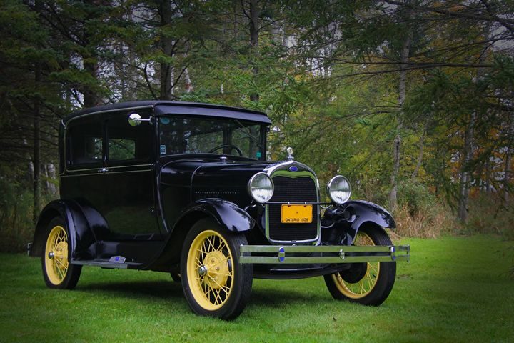 1928 Ford Model A Tudor - DC Photography