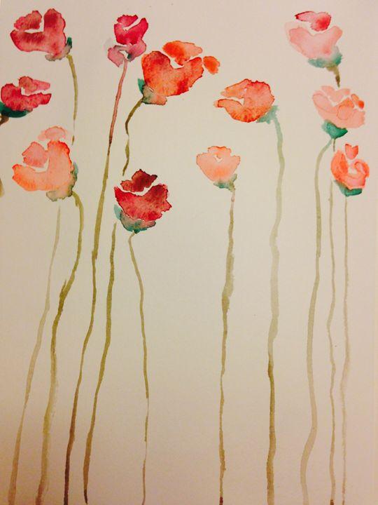 Poppies - Rebecca Sandora