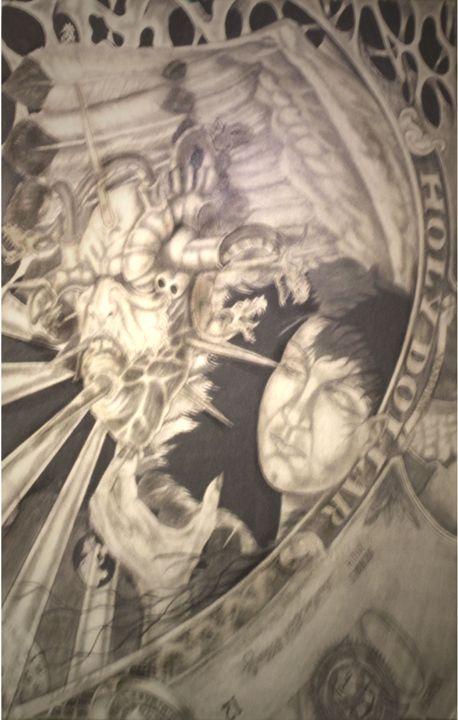 Holy Dollar - Mullis Art