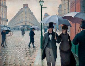Paris Street Rainy Day (1877)