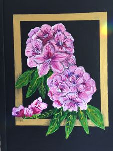 Rhododendrons - Art by Barbara Saul