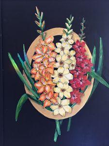 Gladioli - Art by Barbara Saul
