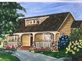Acrylic Bungalow  Painting