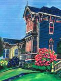 Victorian Houses Painting
