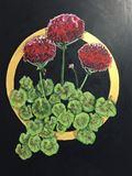 Geranium Painting