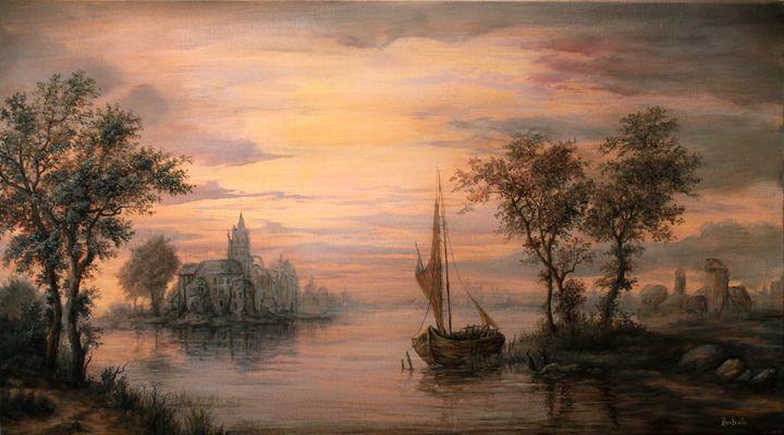 Dan Scurtu - River Sunset - Dan Scurtu