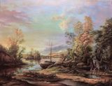 oil on canvas 65/50cm