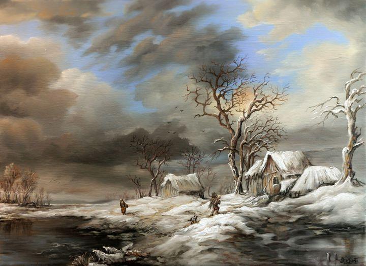 Dan Scurtu - Winter Scene - Dan Scurtu