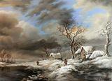 oil on canvas 40/55 cm