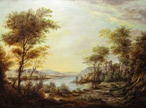 Dan Scurtu - Landscape at Dusk