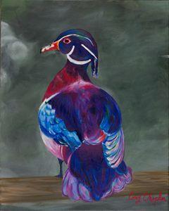 Purple Duck