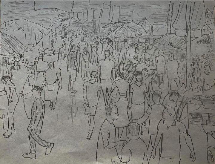 Lagos scene 3 - TOBA