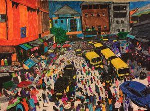 Lagos Market - TOBA FOLORUNSHO JR