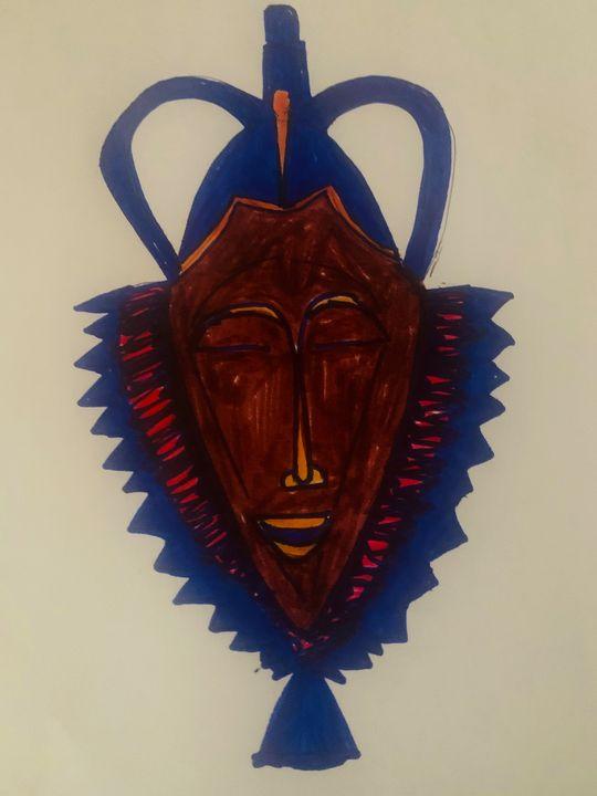 Spirit mask - TOBA