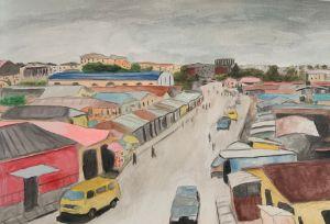 Lagos in Watercolor