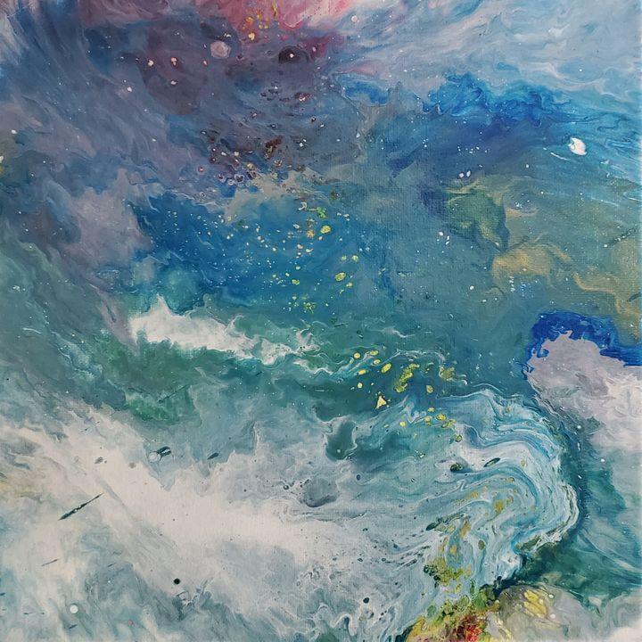 Wild Waves #002 - 3J Art by Jackson