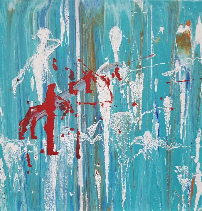 Acrylic Pour #2 - 3J Art by Jackson