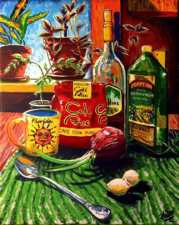 """""""La floriqueña"""" - Helen Perrone"""