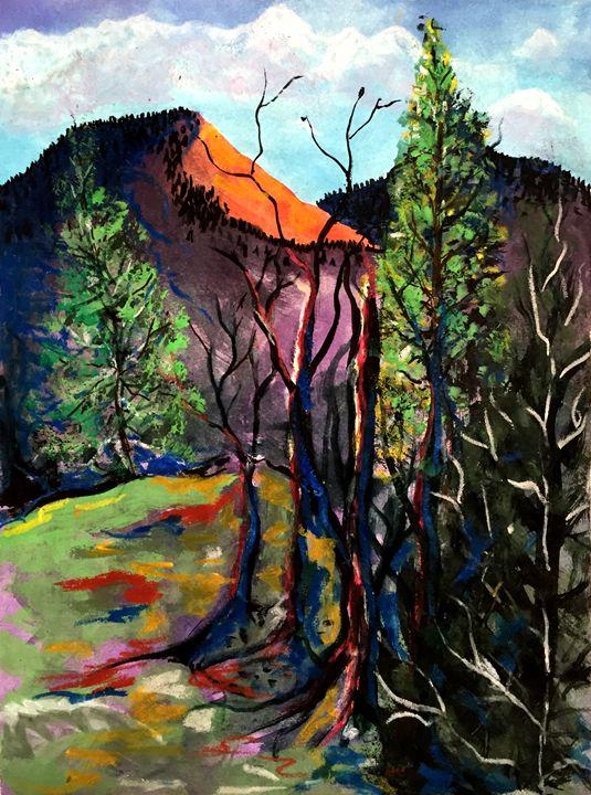 """Sacred Overlook"" - Helen Perrone"