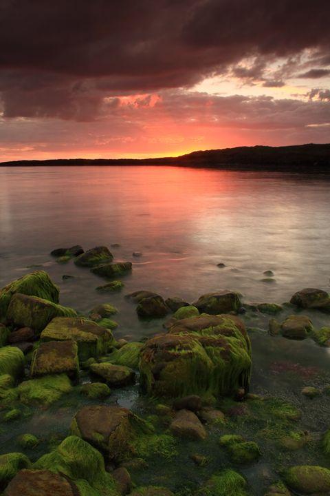 Evening mood at Irish Atlantic coast - peter gau