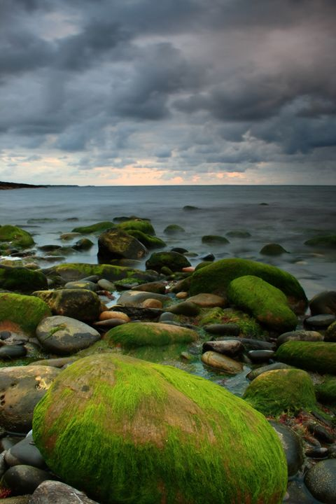 Irish seascape - peter gau