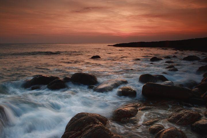 Evening mood at Irish West coast - peter gau