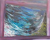 originl acrylic painting, abstract,