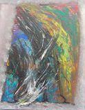 original acrylic painting, abstract