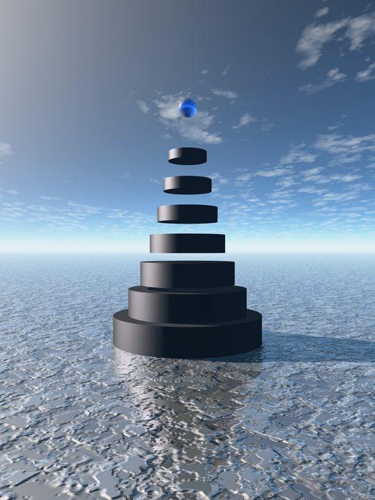 Rings Pyramid - Perkins Designs