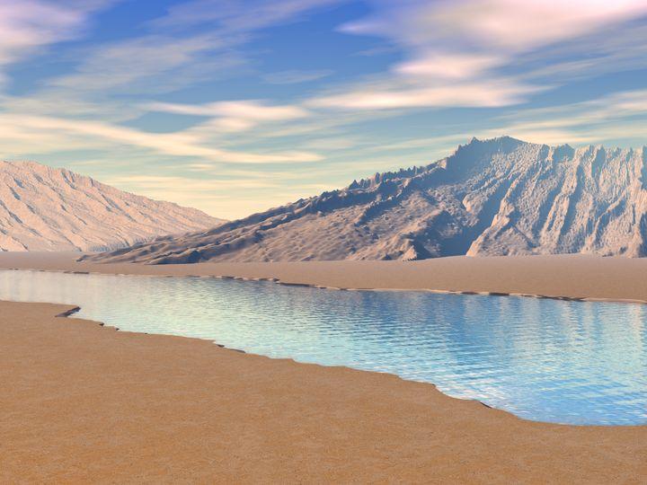 Desert River - Perkins Designs