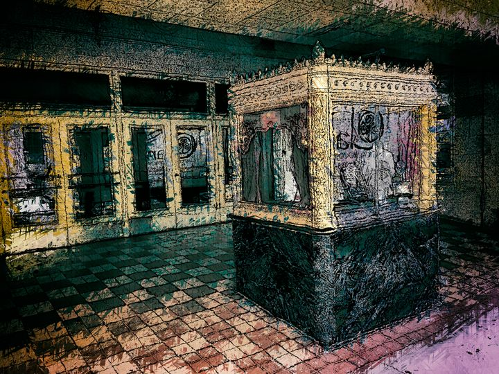 Theater Ticket Booth - Perkins Designs