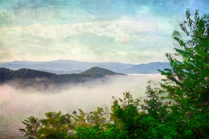 Fog In The Valley - Perkins Designs