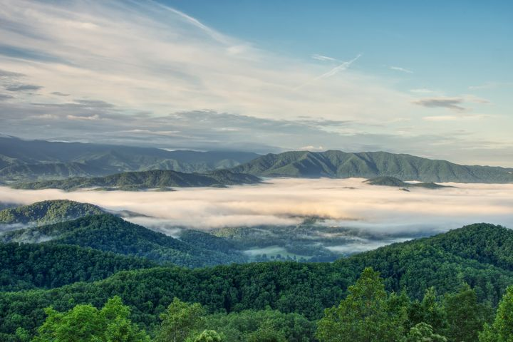 Smoky Mountain Sunrise 5 - Perkins Designs