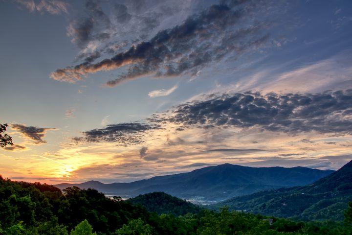 Smoky Mountains Sunrise 2 - Perkins Designs