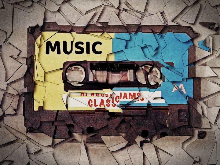 Vintage Music Cassette - Perkins Designs