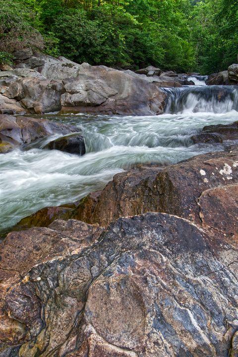 Rapids On Little River 2 - Perkins Designs