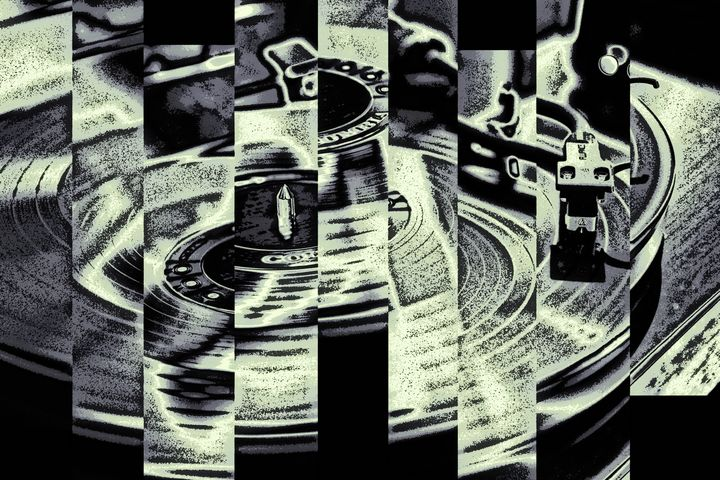 Playing Records - Perkins Designs