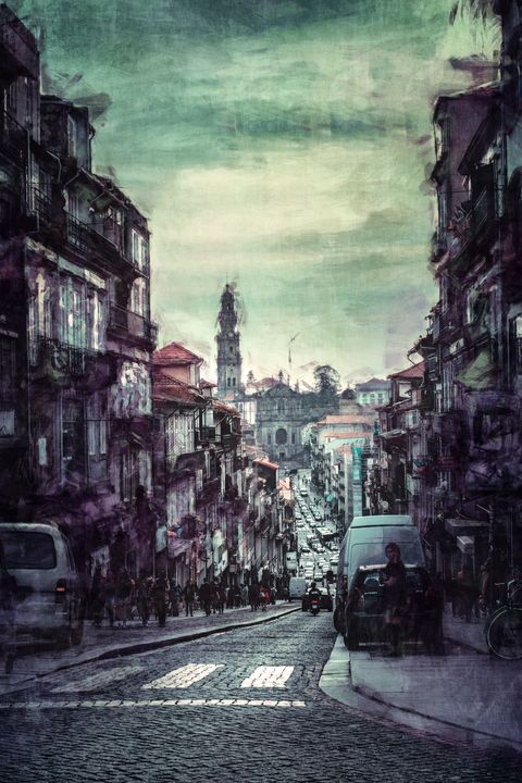 Streets of Portugal - Perkins Designs