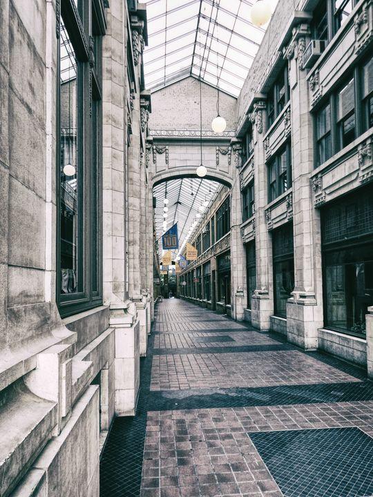 Vintage Corridor - Perkins Designs