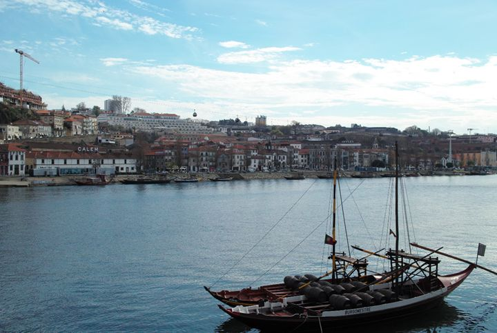 Rabelo boat on the Douro river - Dream Light