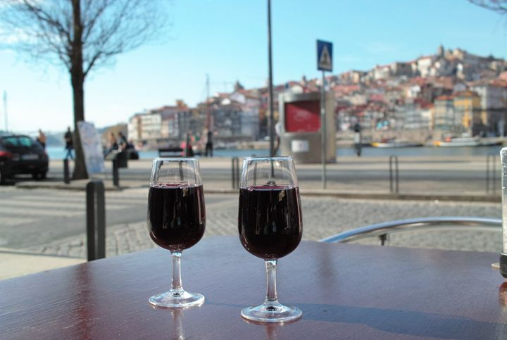 Some port wine on a Porto shore - Dream Light