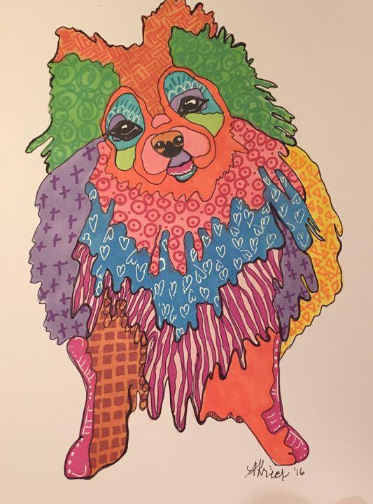 Peppy Pomeranian - Whimsyville
