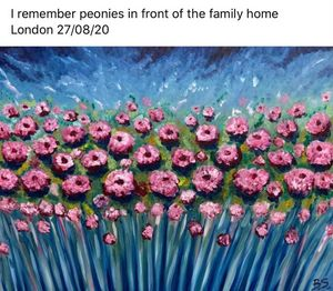 Peonies - Bogumil Staciwa