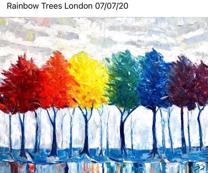 Rainbow Trees - Bogumil Staciwa
