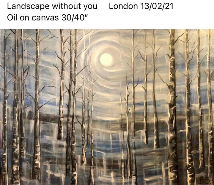 Landscape without you - Bogumil Staciwa