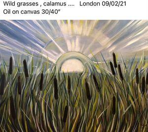 Wild grasses, calamus ... - Bogumil Staciwa